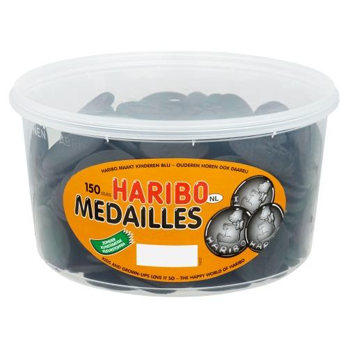 HARIBO DROP MEDAILLES (150 × 1.35kg)