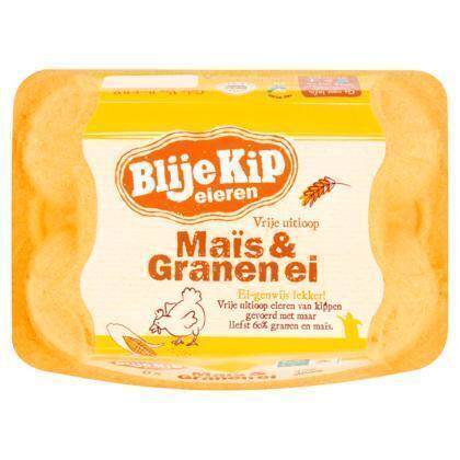 Maïs & Granen ei (doos)