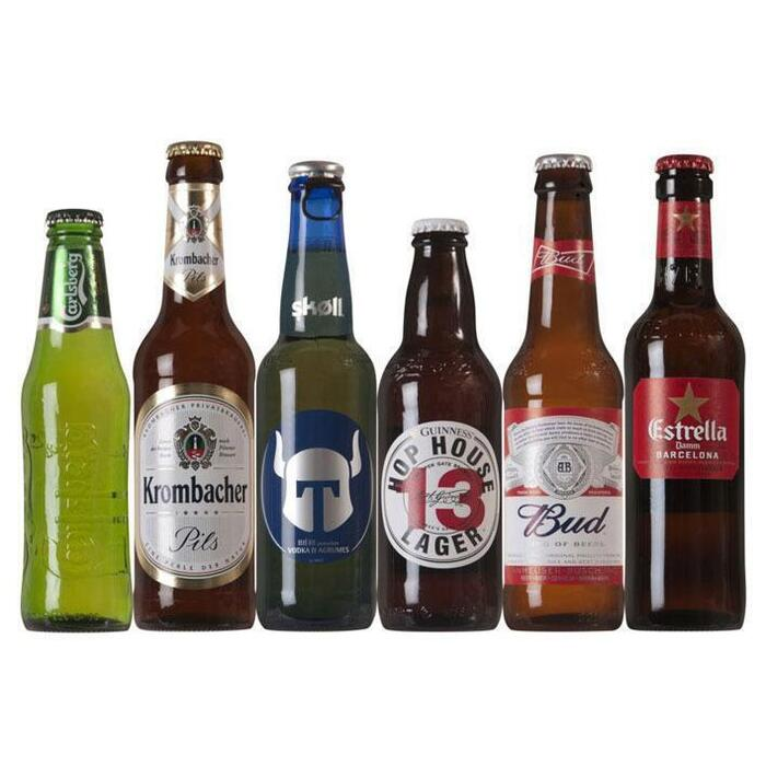 World of Beers Geschenkverpakking (6 × 30cl)