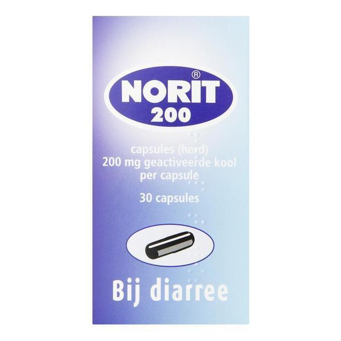Norit capsules 200 (30 st.)
