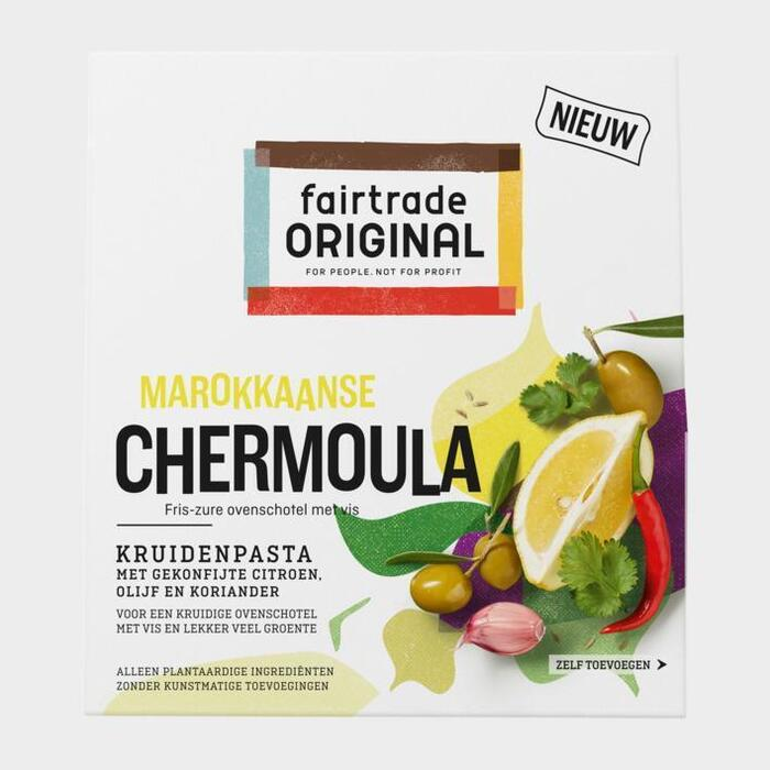 Fairtrade Original Marokkaanse chermoula paste (70g)