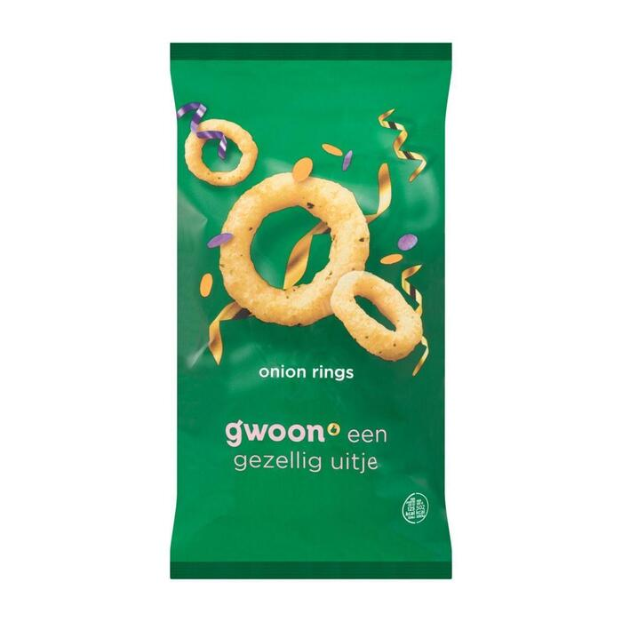 g'woon Onion rings (125g)