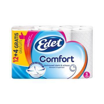 Edet Comfort 3-Laags 12 + 4 Gratis (rollen)