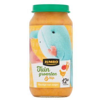 Jumbo Tuin Groenten & Kip 12+ Maanden 250g (250g)
