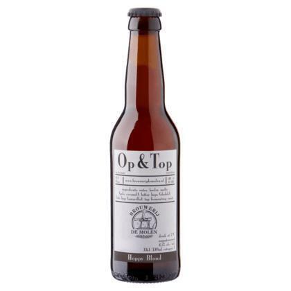 Brouwerij de Molen Op & Top Hoppy Blond Fles 33cl (rol, 33 × 33cl)