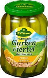 Traditionele Gurkenviertel (pot, 670-g) (670g)