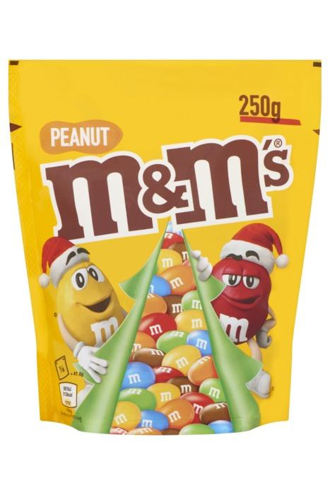 M&M's PEANUT Chocoladedragees 250g stazak (250g)