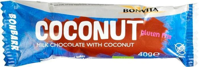 Bonbarr Milk Chocolate & Coconut Bar (40g)