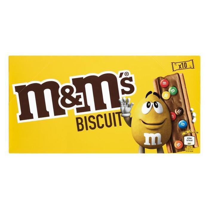 M&M's Biscuit (10 × 198g)