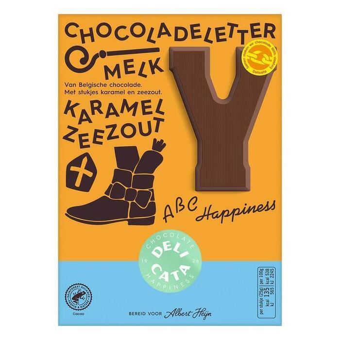 Delicata letter melk karamel zeezout (90g)
