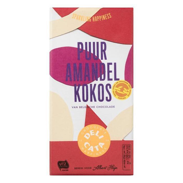 Delicata Reep puur-amandel-kokos (180g)