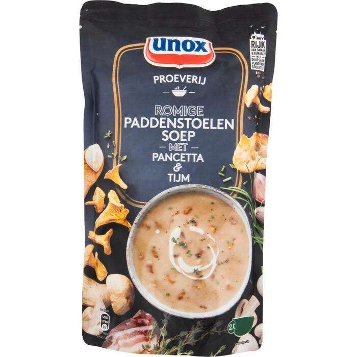 Unox Soep in zak Proeverij paddenstoel (0.57L)