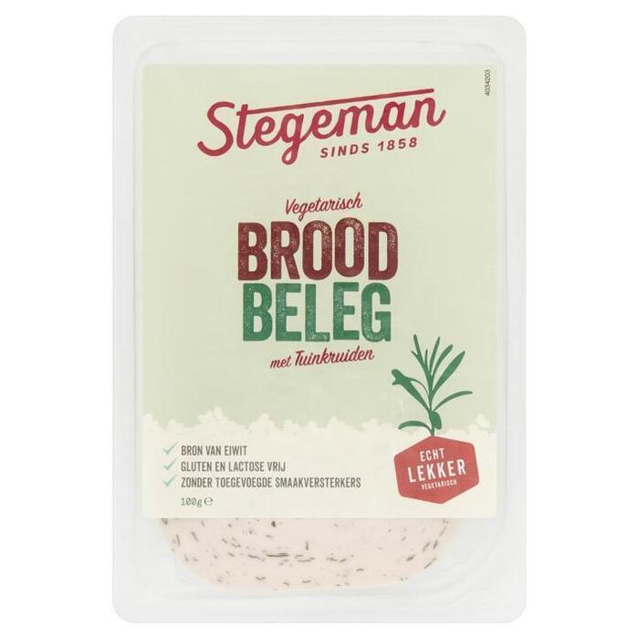 Stegeman Vegetarische Specialiteit Tuinkruiden 100 g (100g)