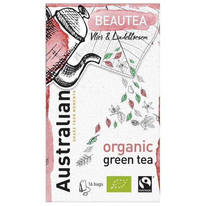 Australian Beautea green tea biologisch (16 × 1.6g)