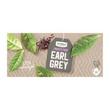 Jumbo Zwarte Thee Earl Grey 80 g (80g)