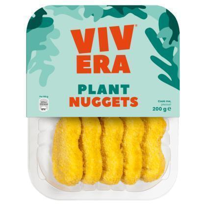 Vivera 100% Plantaardig Nuggets 10 Stuks 200 g (200g)
