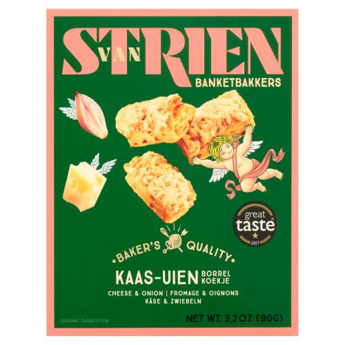 Van Strien handmade Butter cheese onion straw (90g)