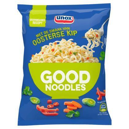 Unox Good noodles instant oosterse kip (70g)