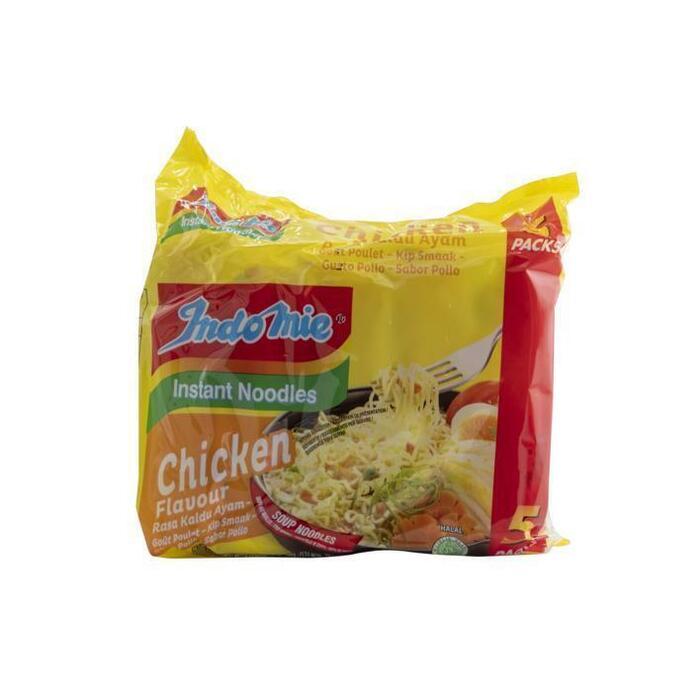 Indo Mie Instant Noodles Kip Smaak 70 g (5 × 70g)