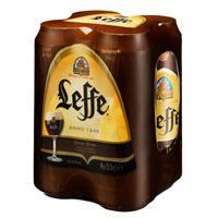LEFFE BRUIN BLIK Speciaalbieren (4 × 0.5L)