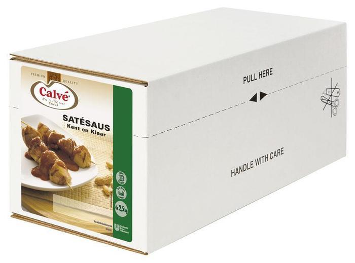 Calve Satesaus 2.5KG 4x (4 × 2.5kg)