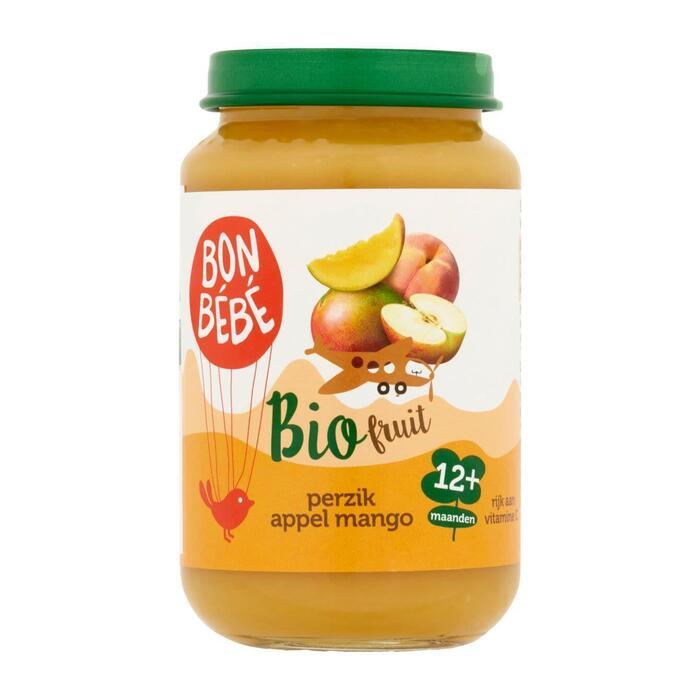 Fruithapje perzik appel mango (200g)