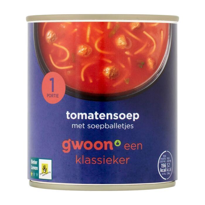g'woon Tomatensoep (30cl)