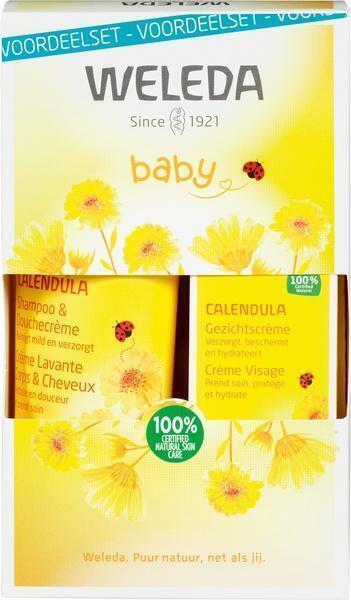 Calendula baby gezichtscrème set (50ml)