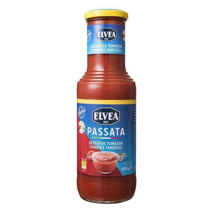 Passata gezeefde tomaten (690g)