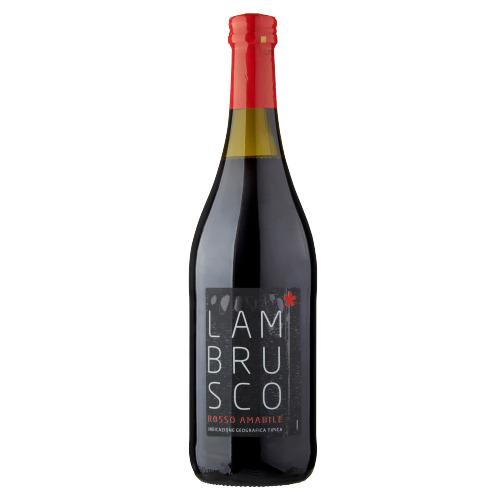 Lambrusco Rosso Amabile 0,75 Liter (0.75L)
