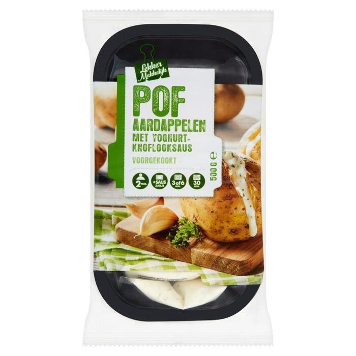 Pofaardappelen yoghurt knoflook (500g)
