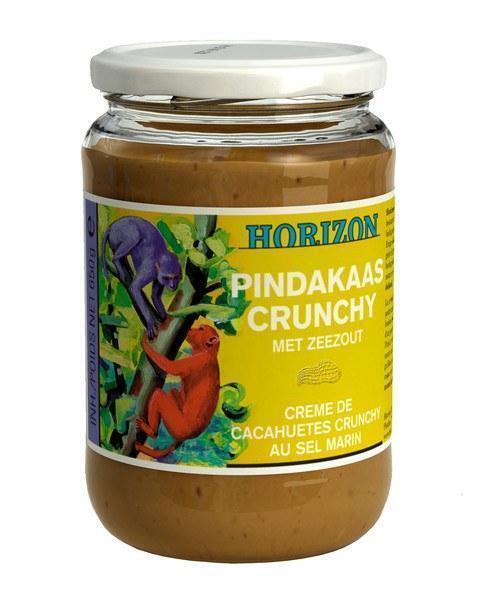 Pindakaas Crunchy Met Zeezout (pot, 650g)