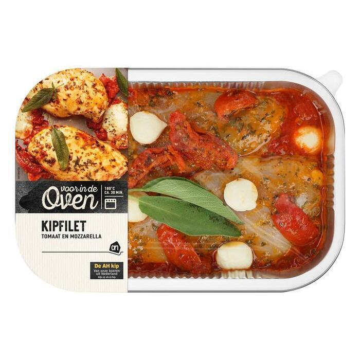 AH Kipovenschotel filet tomaat mozzarella (550g)