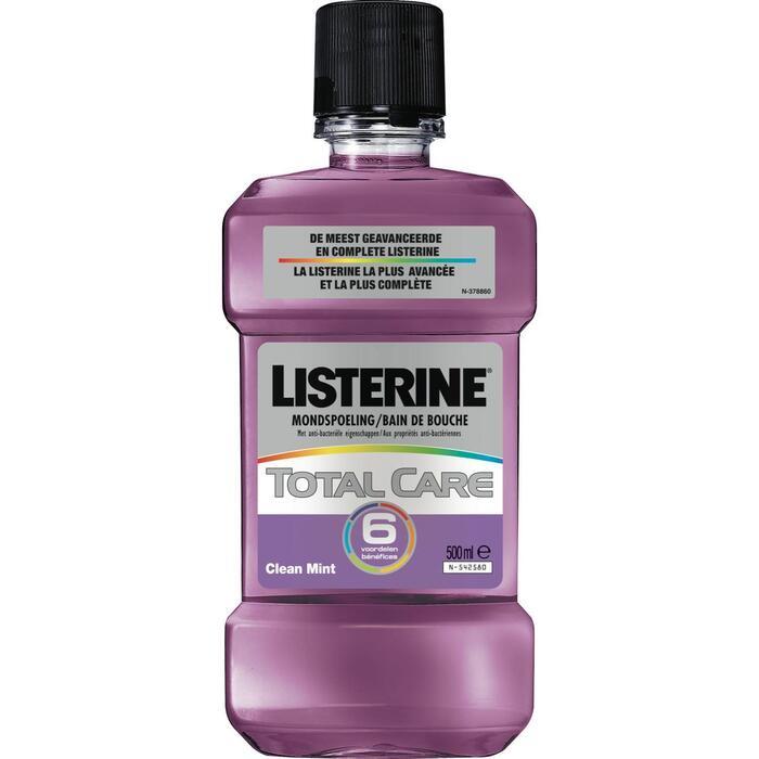 Listerine Total Care Mouthwash Clean Mint 500ml (0.5L)