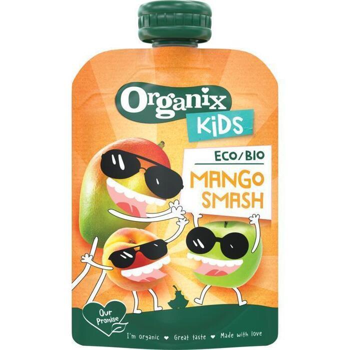 Organix Mango smash knijpzakje kids (100g)
