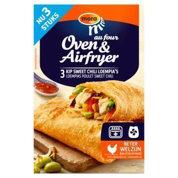 Mora Oven & Airfryer Loempia Kip Sweet Chili 3 x 100 g (3 × 100g)
