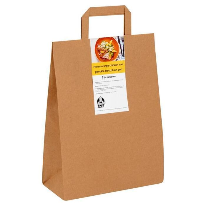 Chef Ali Honey Orange Chicken met Gewokte Broccoli en Gort 1,365 kg (1.36kg)
