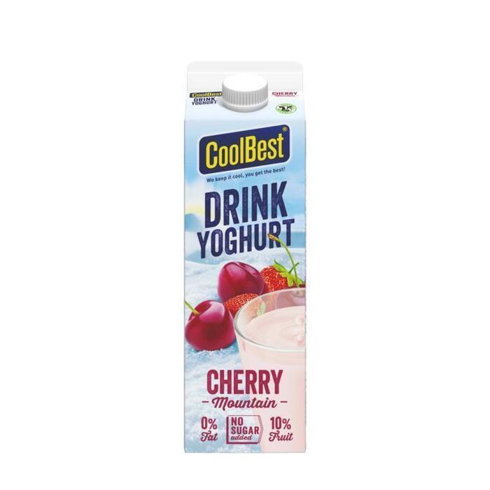 CoolBest Drink yoghurt cherry mountain (1L)