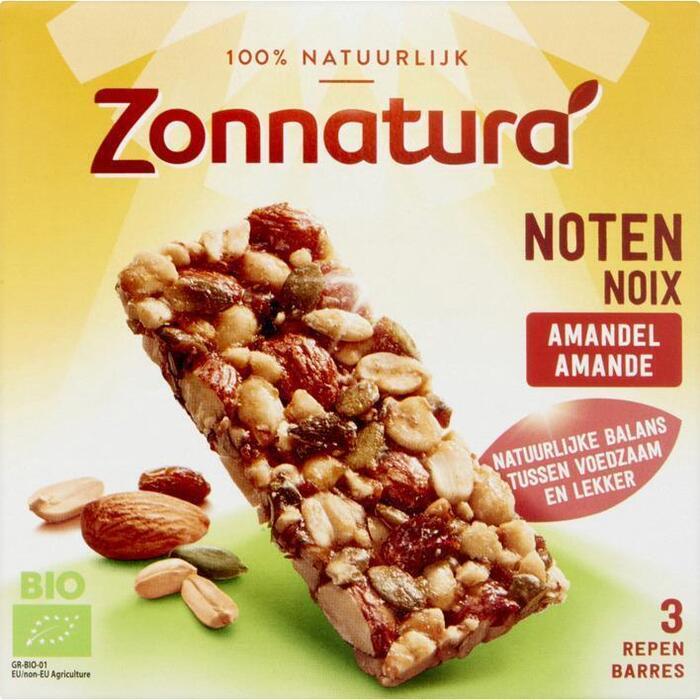 Notenmix Reep Zonnatura (Stuk, 3 × 25g)