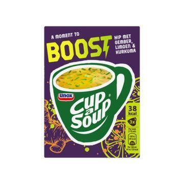 Unox Cup-a-Soup boost (3 × 11.5g)