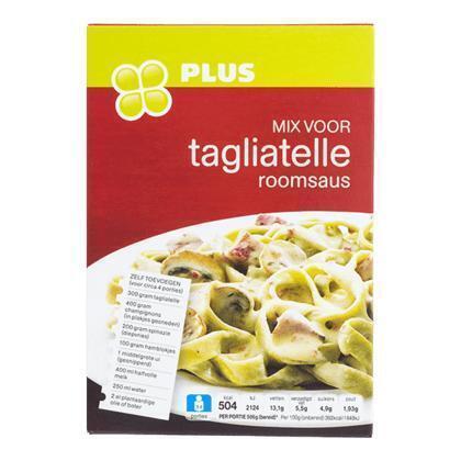 Mix voor tagliatelle roomsaus (66g)