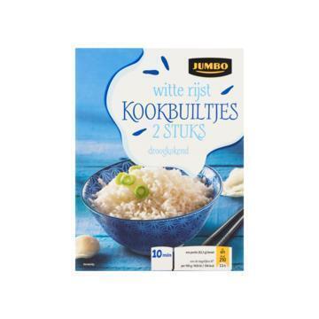 Witte Rijst Kookbuiltjes (doos, 250g)