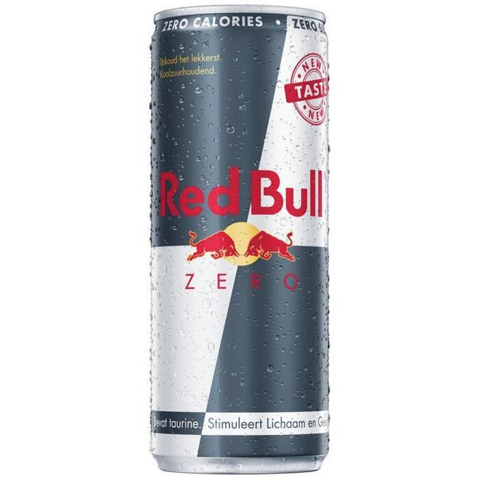 Red Bull Zero Calories (blik, 250ml)