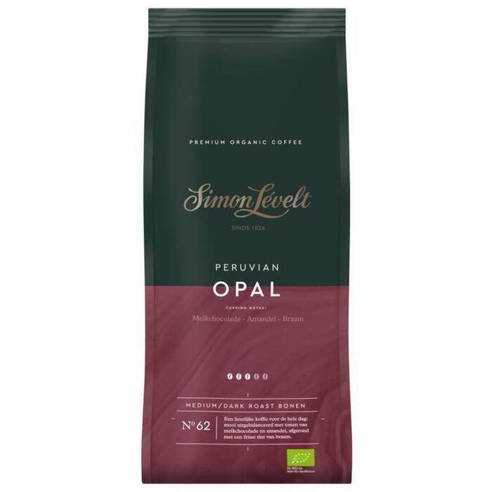 Simon Lévelt Peruvian opal koffiebonen (500g)
