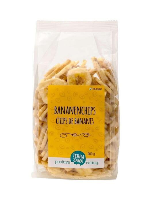 Bananenchips TerraSana 200g (200g)