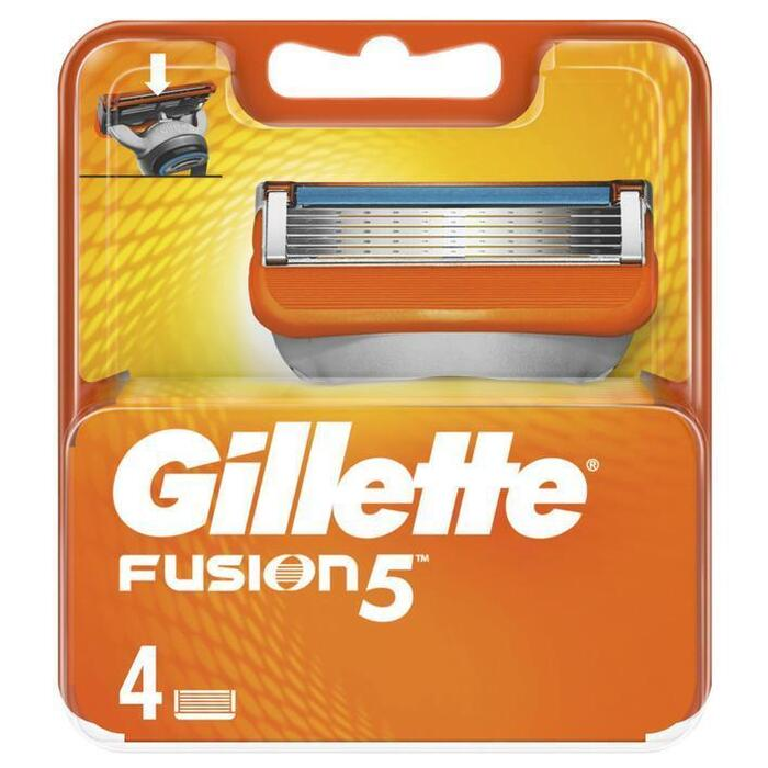 Gillette Fusion5 Scheermesjes Voor Mannen, 4 Navulmesjes