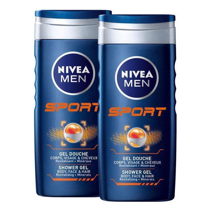 Nivea Men sport (2 × 250ml)