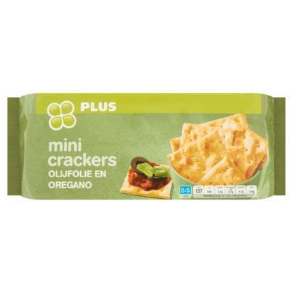 Mini crackers olijf & oregano (250g)