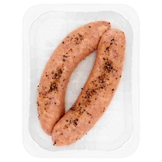 DEEN varkensvlees braadworst 2 stuks (2 × 120g)