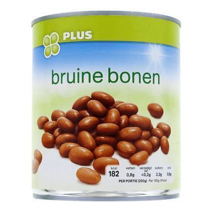 Bruine bonen (800g)